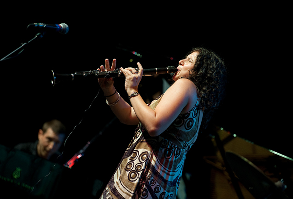 Anat Cohen Live at the 2010 Litchfield Jazz Festival