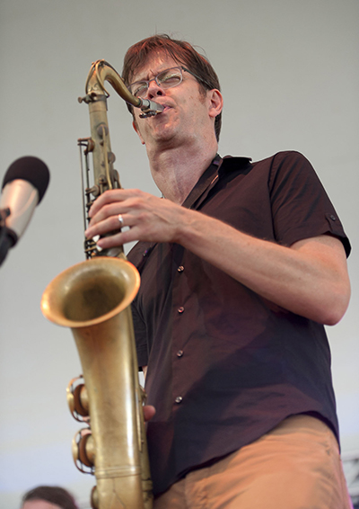 Donny McCaslin Amazing Saxophone Cadenza. Litchfield Jazz Festival 2012