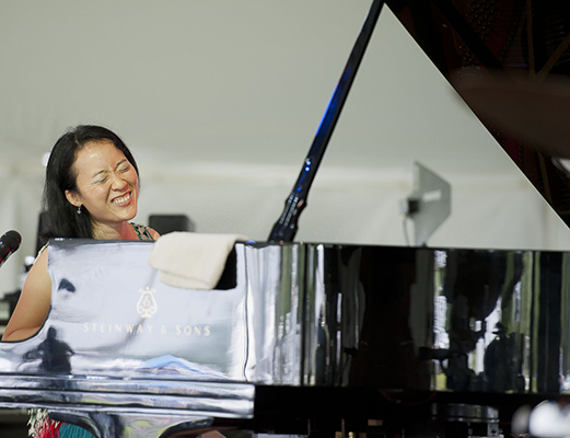 Helen Sung Trio Live at the Litchfield Jazz Festival