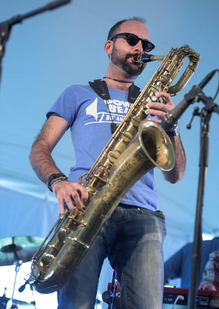 """""""Mr. P.C."""" Litchfield Jazz Festival August 2014"""