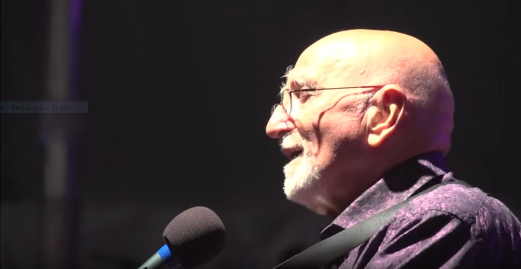 Dominic Chianese (Uncle Junior) performs at the 2012 Litchfield Jazz Festival